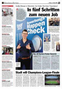 Interview Karrierehelden Münchner tz 02.2019