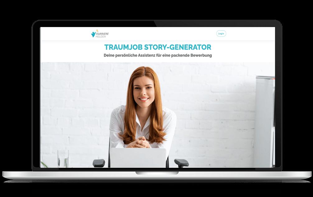 Karrierehelden-Story-Generator