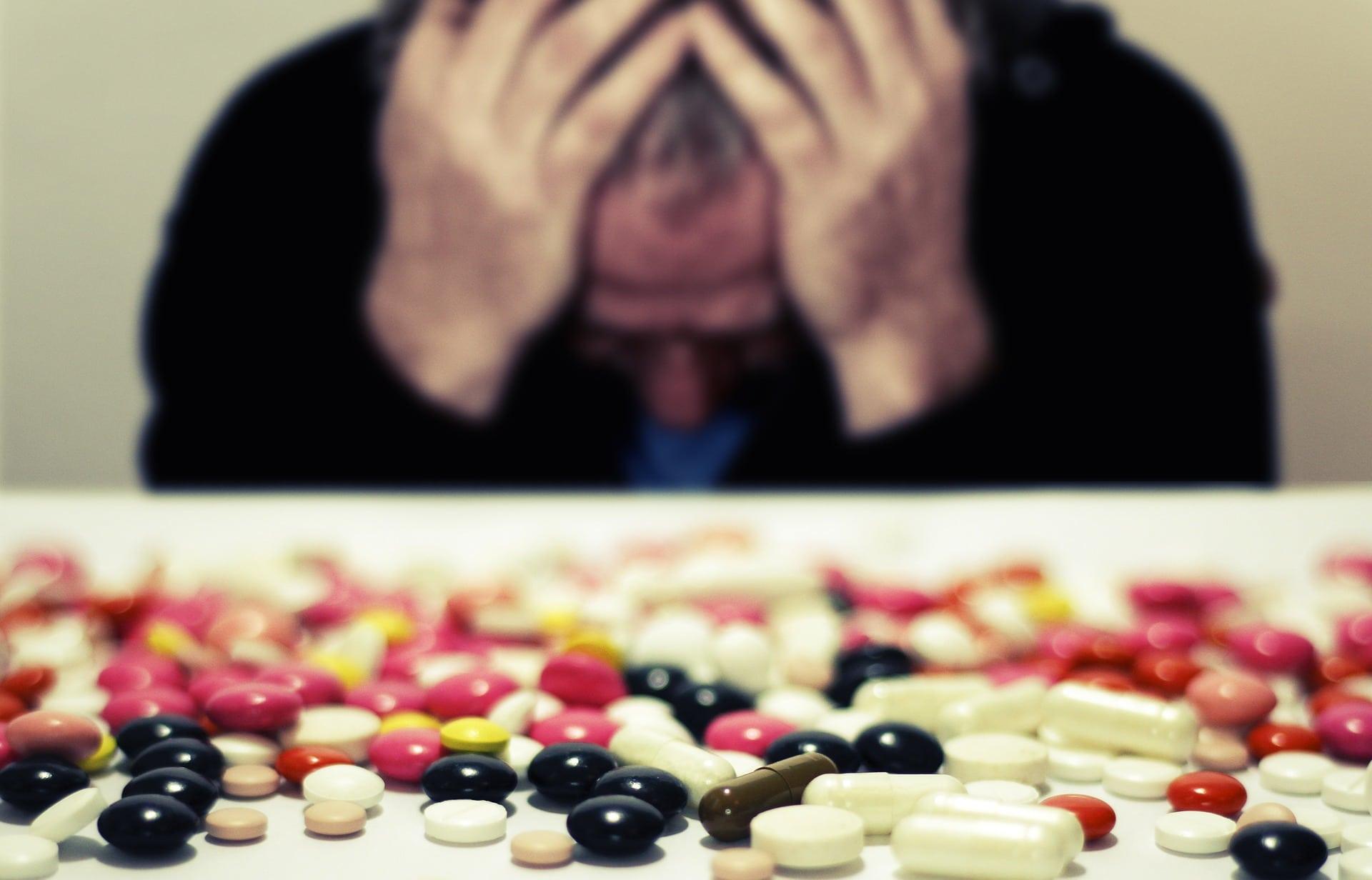 Medikamentenmissbrauch durch Stress