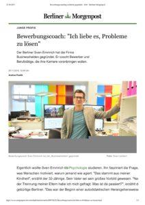 Berliner Morgenpost Interview 11.2016 und Porträt