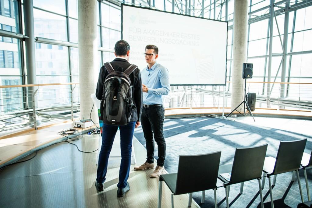 Barlag Jobmesse Mercedes Benz Welt Berlin 10.2017
