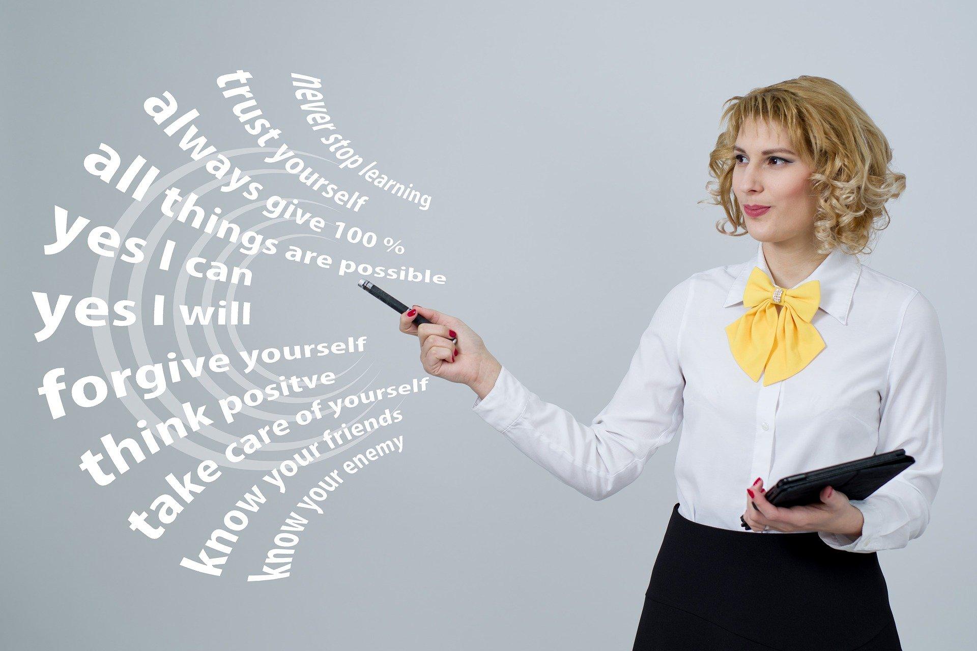 Selbstmarketing und Werte